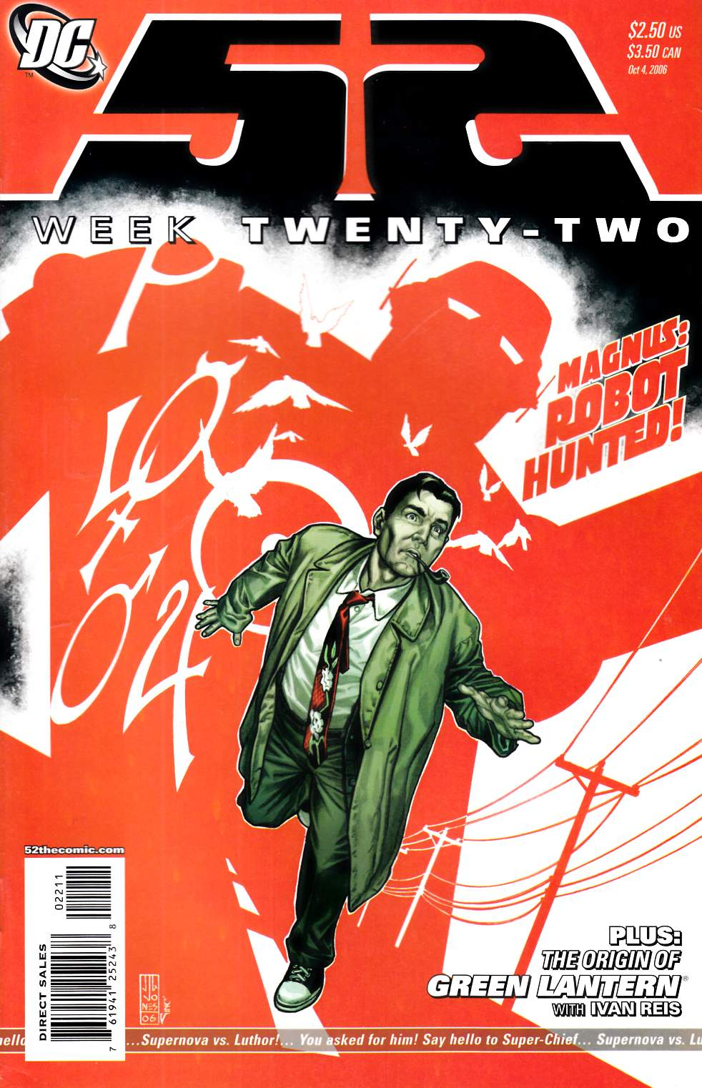 52 Week #22 Very Fine (8.0) [DC Comic] LARGE
