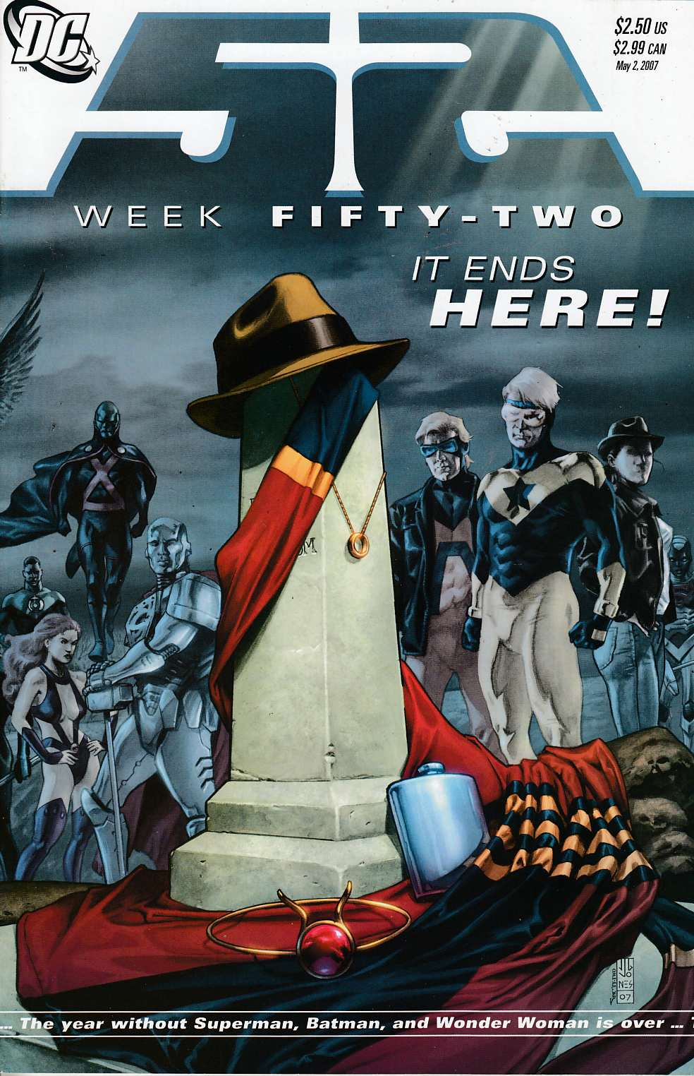 52 Week #52  Near Mint (9.4) [DC Comic] THUMBNAIL