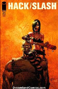 Hack slash ongoing #1 (larsen cover) LARGE