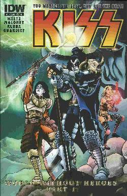 Kiss #3 Cover A- Maloney [IDW Comic] LARGE
