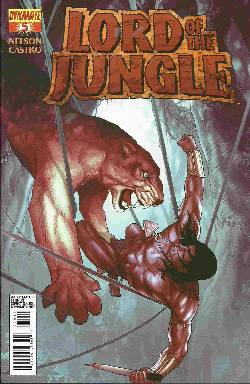 Lord Of The Jungle #5 Renaud Cover [Comic] LARGE