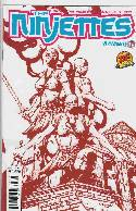 DF Ninjettes #1 Exclusive Red Cover [Comic] THUMBNAIL