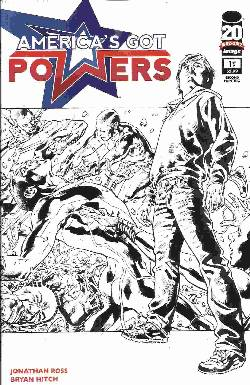 Americas Got Powers #1 Second (2nd) Printing [Comic] LARGE
