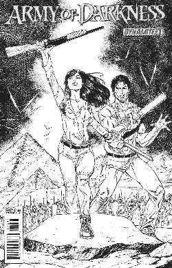 Army Of Darkness Ongoing #1 Seeley B&W Incentive Cover [Comic] LARGE