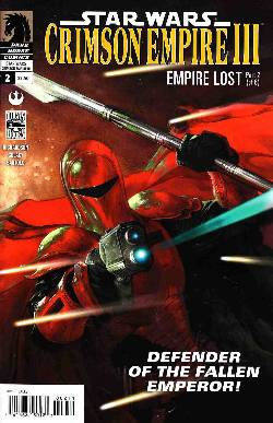 Star Wars Crimson Empire III Empire Lost #2 [Comic] LARGE