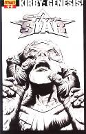 Kirby Genesis Silver Star #2 Lee B&W Incentive Cover [Comic] THUMBNAIL
