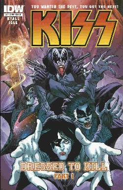 Kiss #1 Cover B- Igle [IDW Comic] LARGE