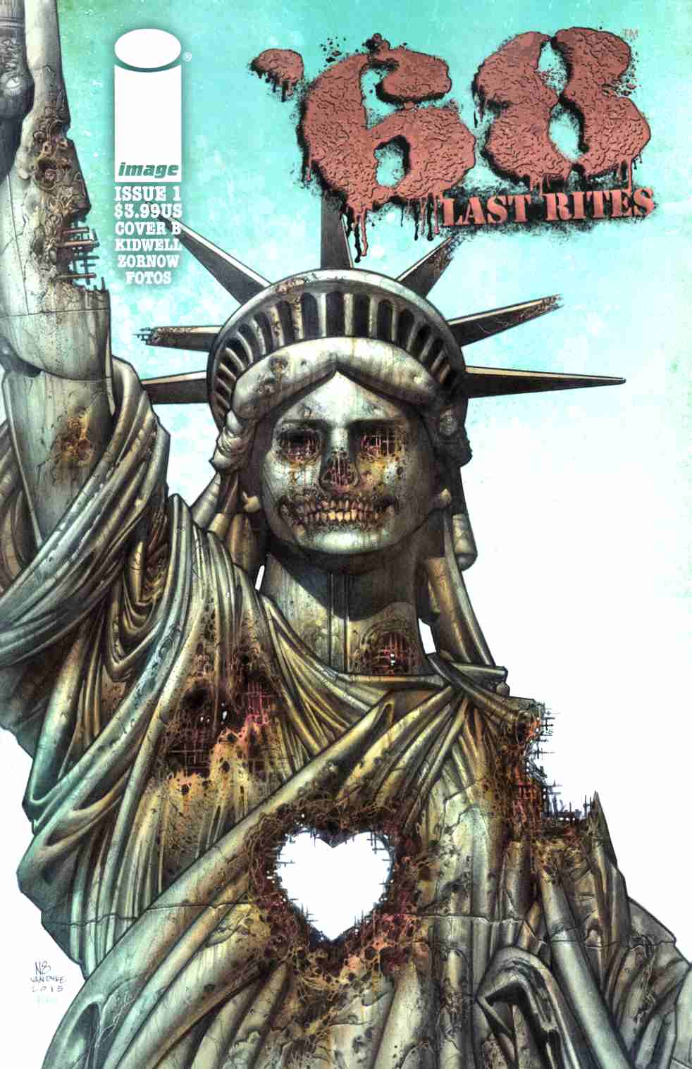 68 Last Rights #1 Cover B- Van Dyke & Fotos [Image Comic] THUMBNAIL
