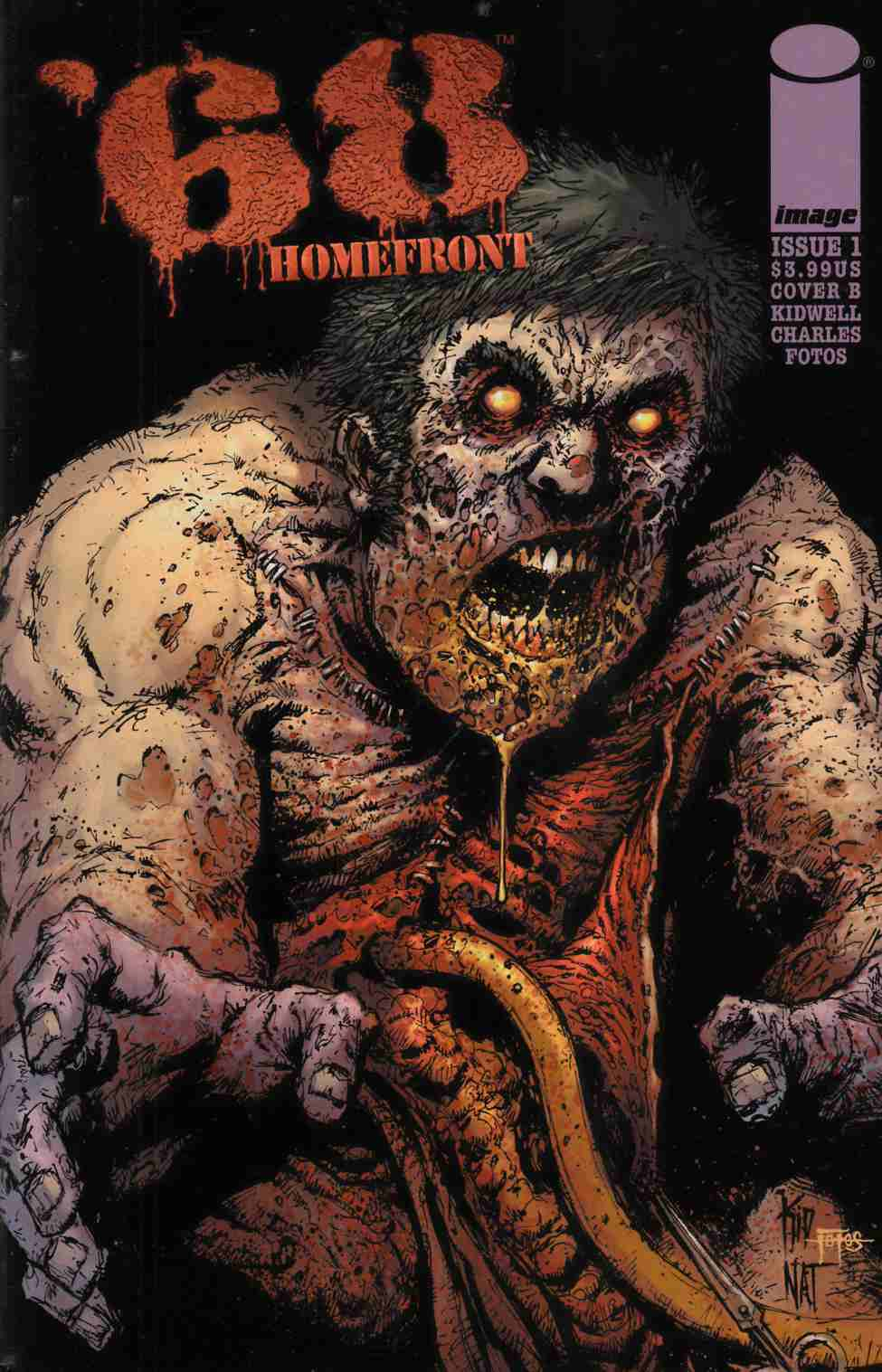 68 Homefront #1 Cover B- Kidwell & Jones & Fotos [Comic] THUMBNAIL