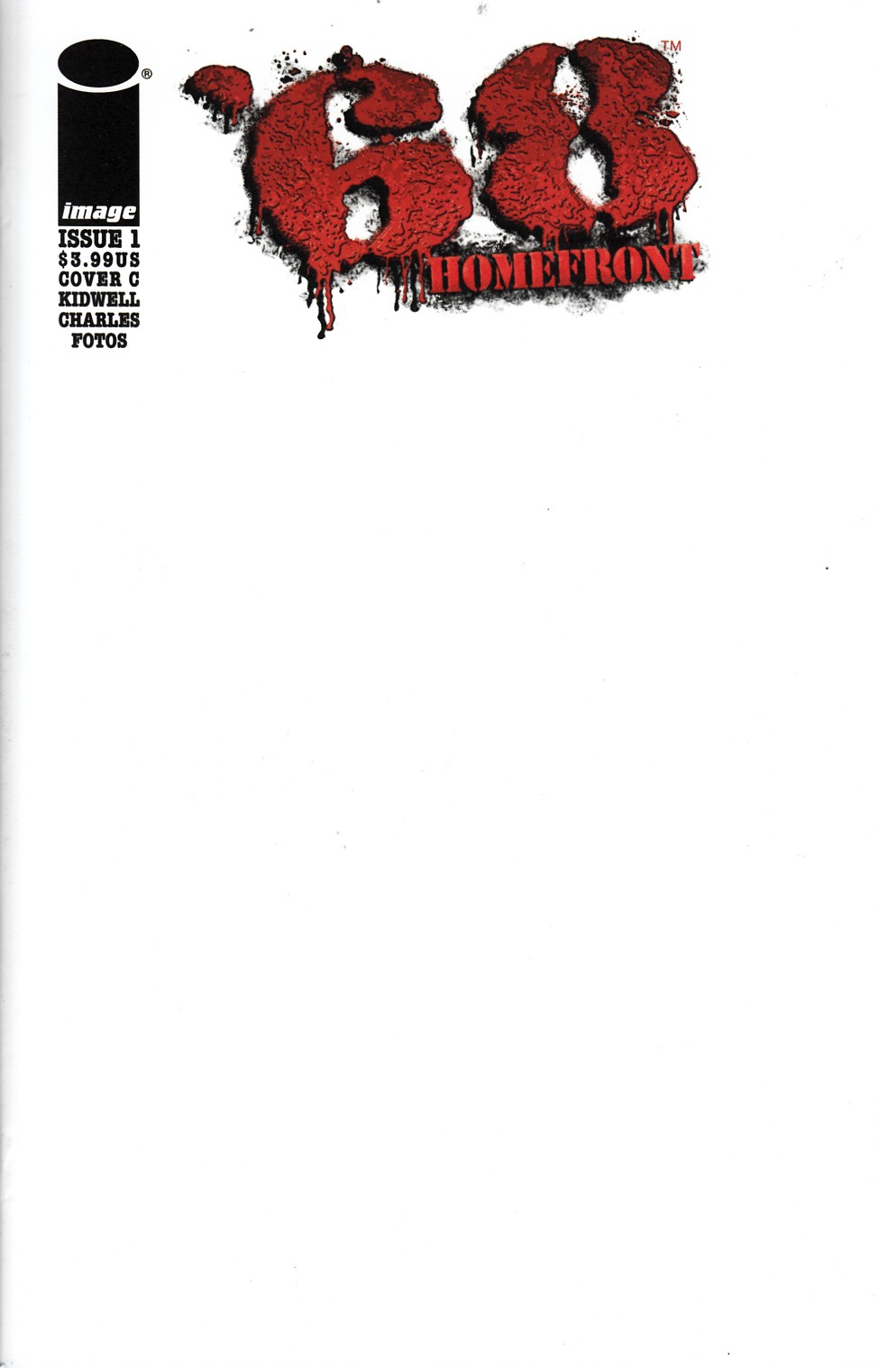 68 Homefront #1 Cover C- Sketch [Comic] THUMBNAIL