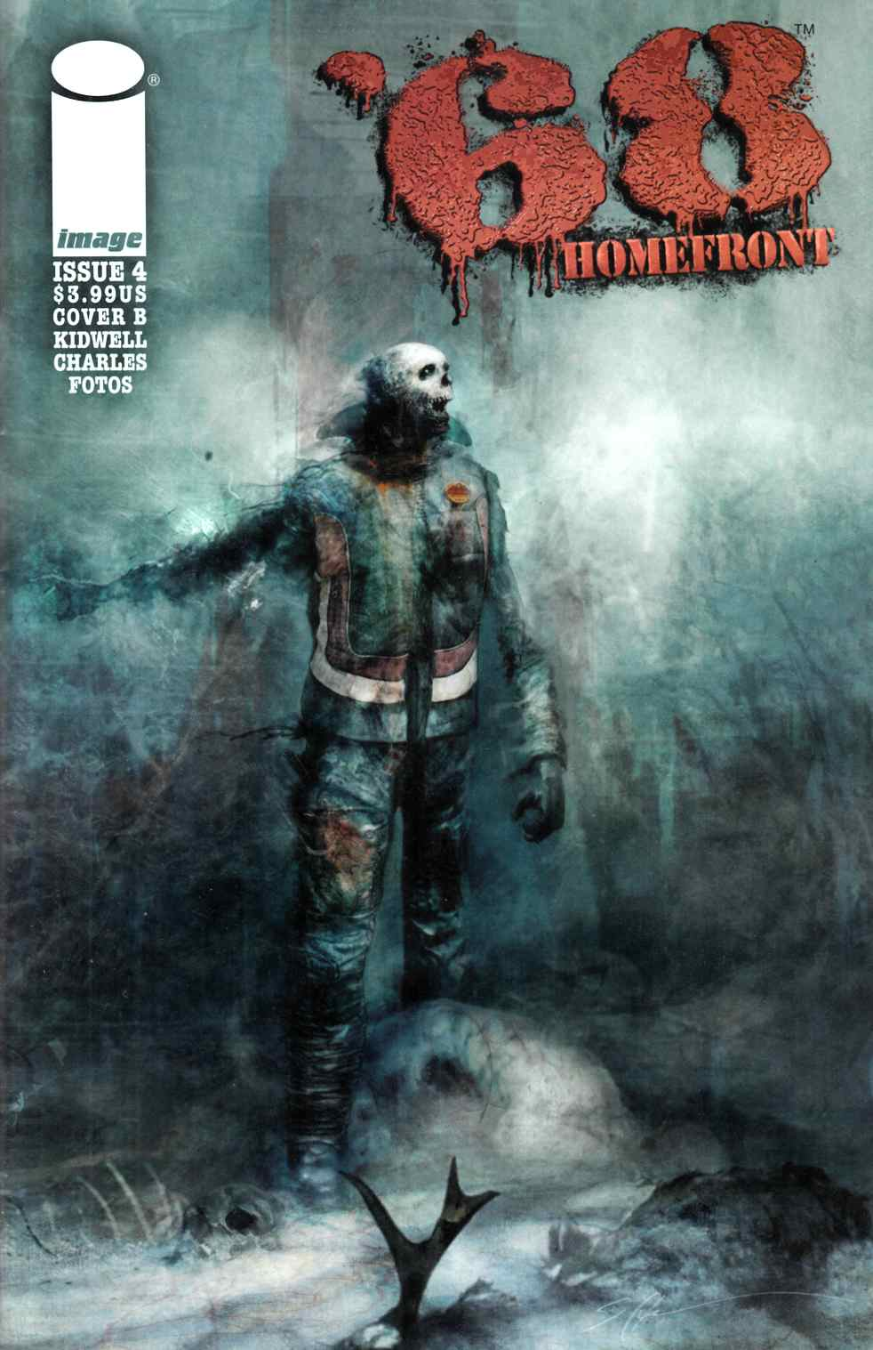 68 Homefront #4 Cover B- Shy [Image Comic] THUMBNAIL