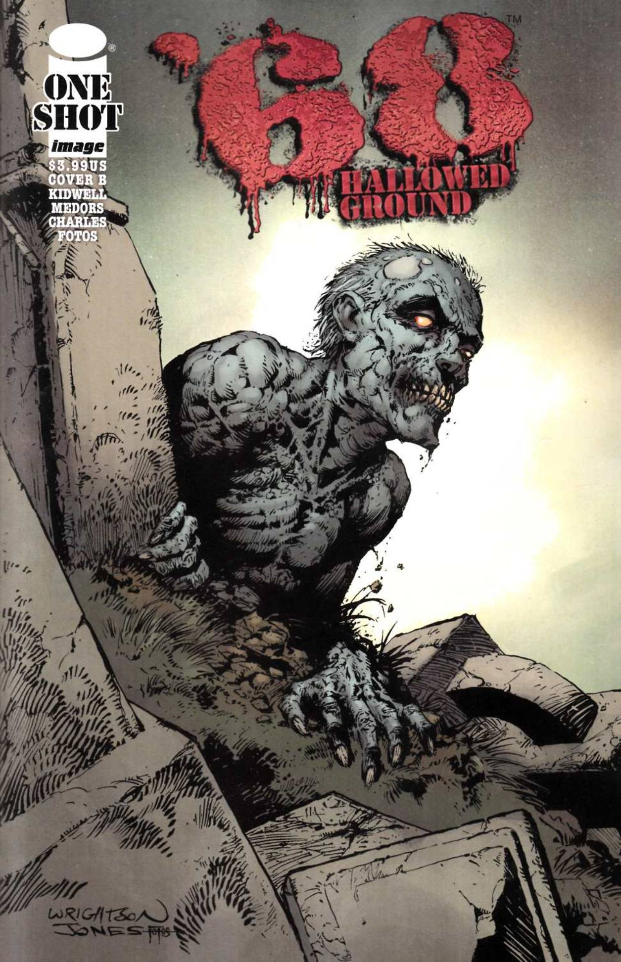 68 Hallowed Ground (One Shot) Cover B [Comic]