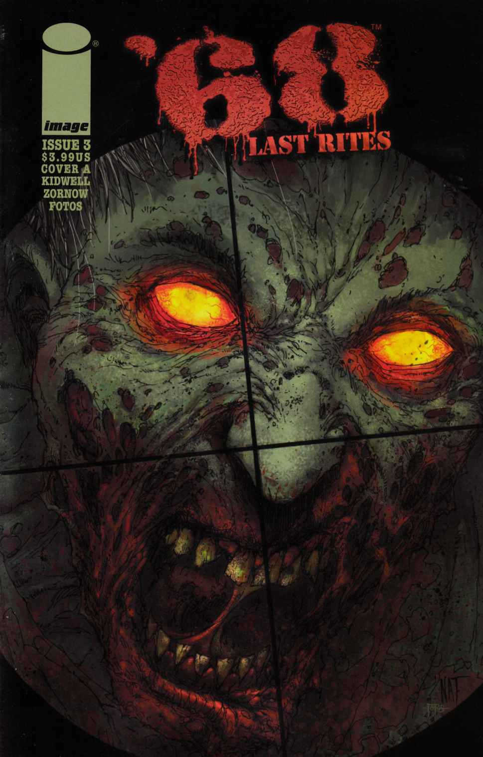 68 Last Rights #3 Cover A- Jones & Fotos [Image Comic] LARGE