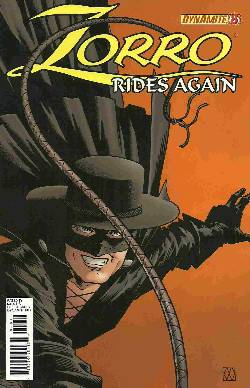 Zorro Rides Again #8 [Comic] LARGE