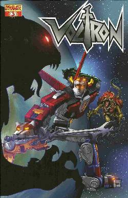 Voltron #3 Chen Cover [Comic] LARGE