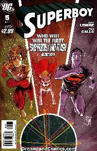 Superboy #5 (1:10 manapul variant cover) LARGE
