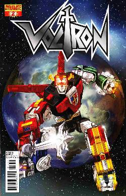 Voltron #2 Chen Cover [Comic] LARGE
