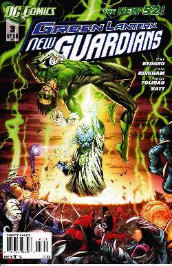 Green Lantern New Guardians #3 [Comic] LARGE