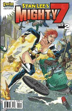 Stan Lees Mighty 7 #2 Saviuk Variant Cover [Comic]