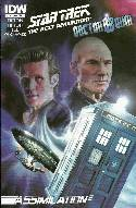 Star Trek TNG Doctor Who Assimilation #1 Cover A [Comic] THUMBNAIL