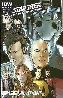 Star Trek TNG Doctor Who Assimilation #1 Cover B [Comic] THUMBNAIL