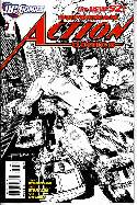 Action Comics #1 B&W Sketch Variant Cover_THUMBNAIL