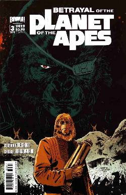 Betrayal Of The Planet Of The Apes #3 Cover A [Comic] LARGE