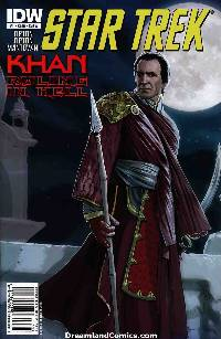 Star Trek Khan Ruling In Hell #1 Cover A [IDW Comic] LARGE