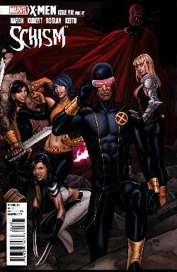 X-Men Schism #5 Cho Variant Cover LARGE