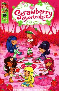 Strawberry Shortcake Berry Fun #1 Scratch N Sniff Cover [Comic] LARGE