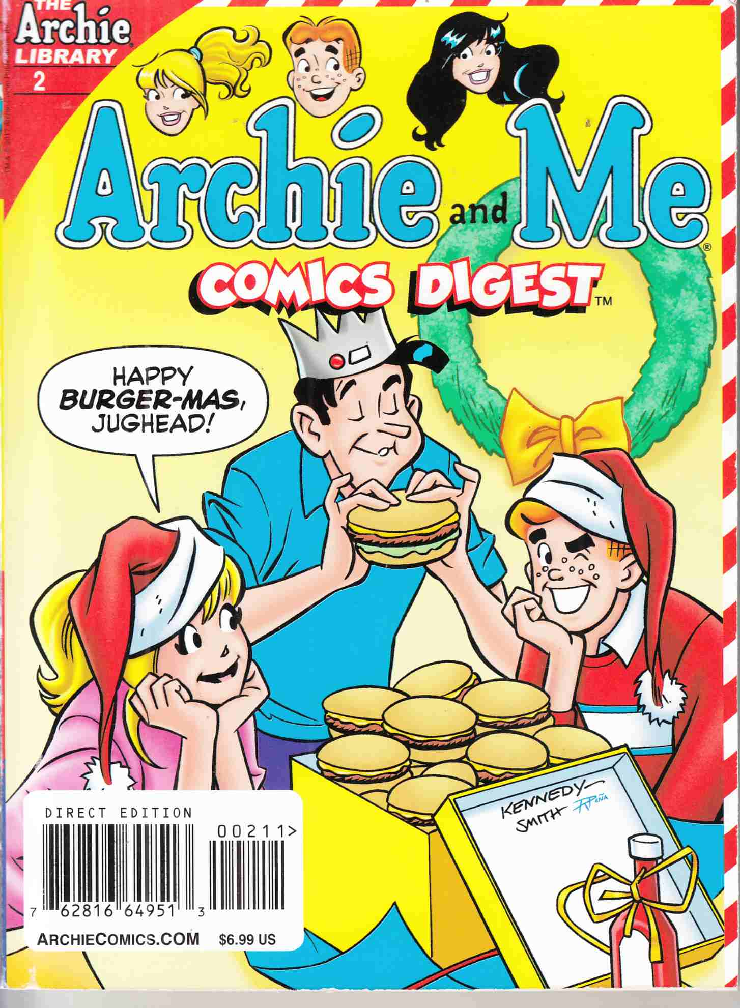 Archie and Me Comics Digest #2 Near Mint Minus (9.2) [Archie Comic] THUMBNAIL