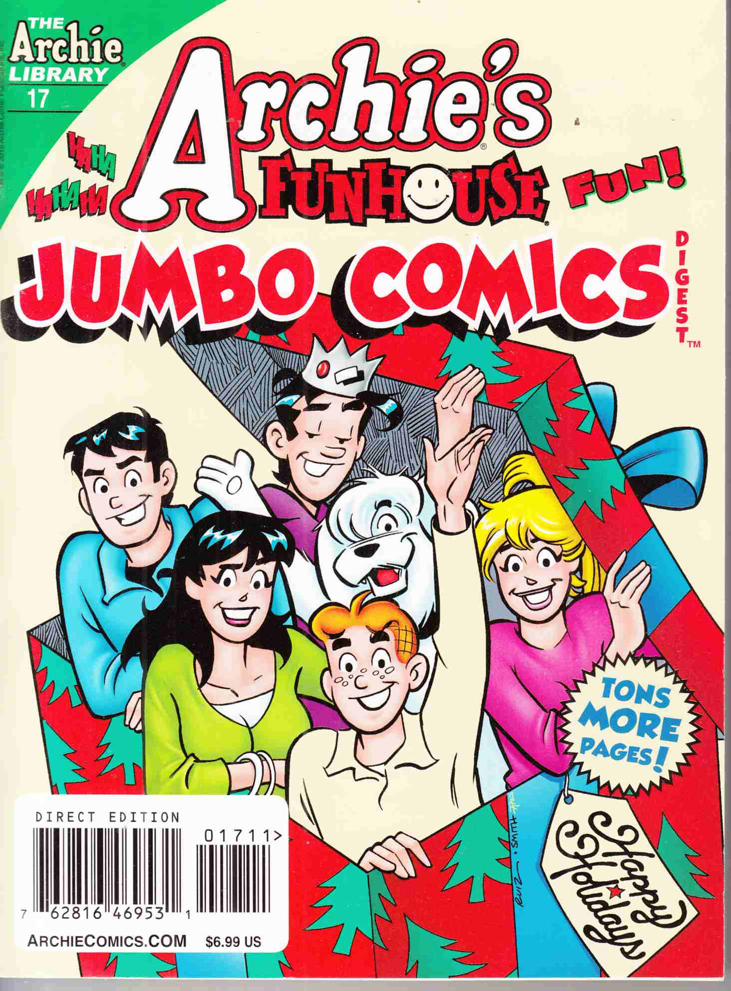 Archie Funhouse Comics Double Double Digest #17 Near Mint (9.4) [Archie Comic] THUMBNAIL
