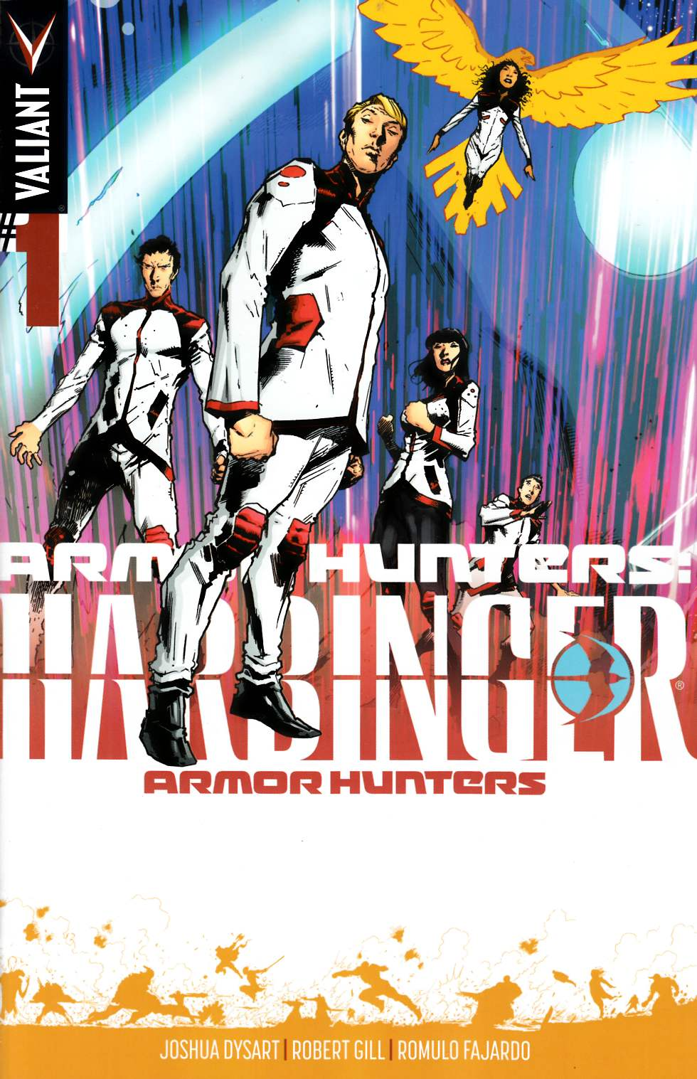 Armor Hunters Harbinger #1 Hairsine Incentive Cover [Comic] LARGE