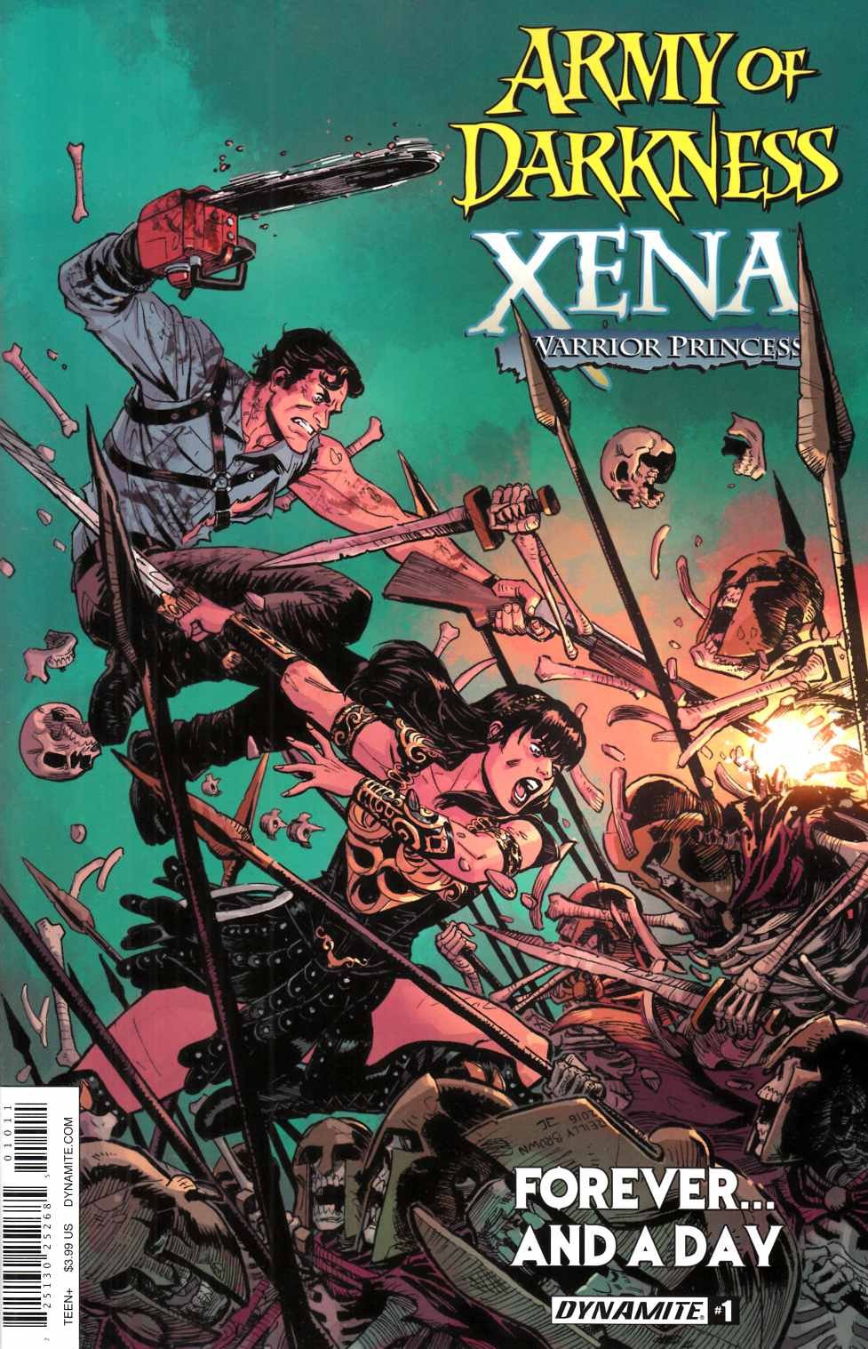 AOD Xena Forever and a Day #1 Cover A [Dynamite Comic]