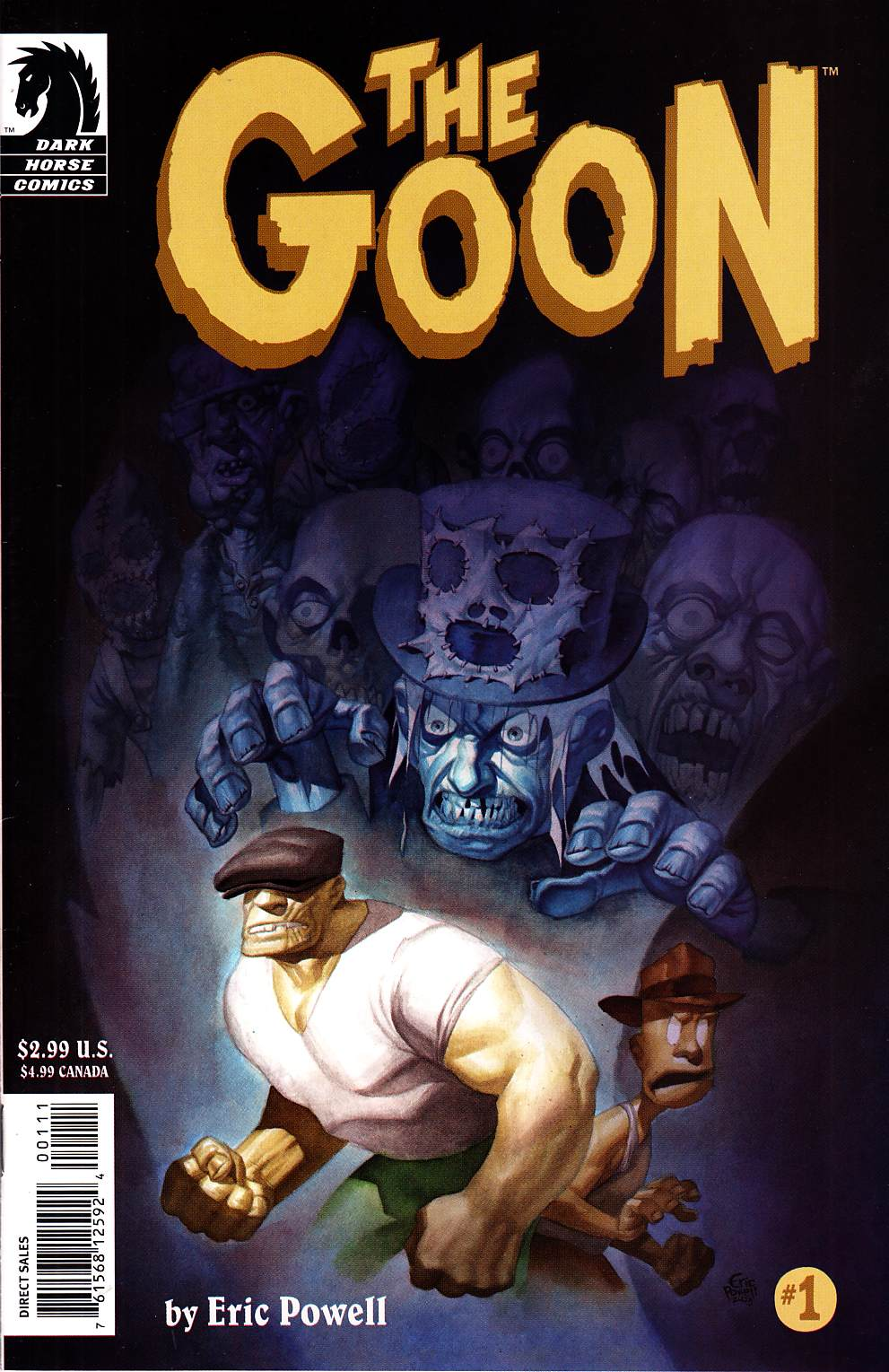 Goon #1 Near Mint Minus (9.2) [Dark Horse Comic] THUMBNAIL