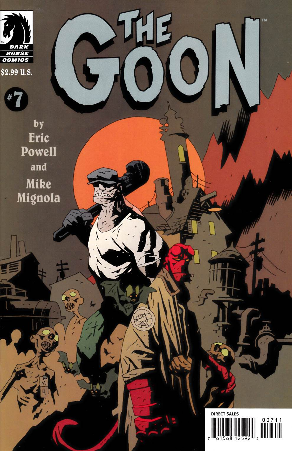 Goon #7 Near Mint (9.4) [Dark Horse Comic] THUMBNAIL