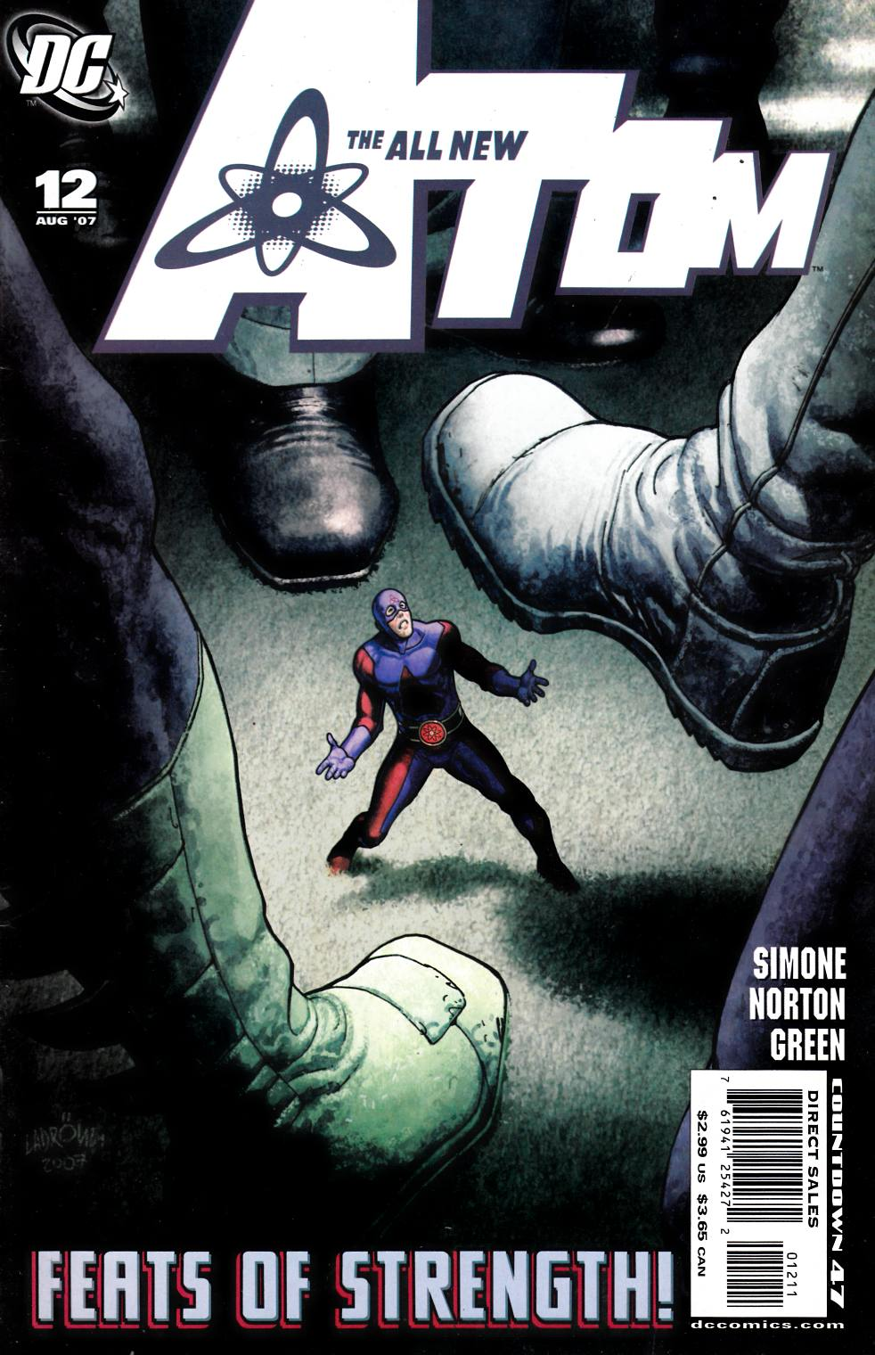 All New Atom #12 Very Fine (8.0) [DC Comic] THUMBNAIL