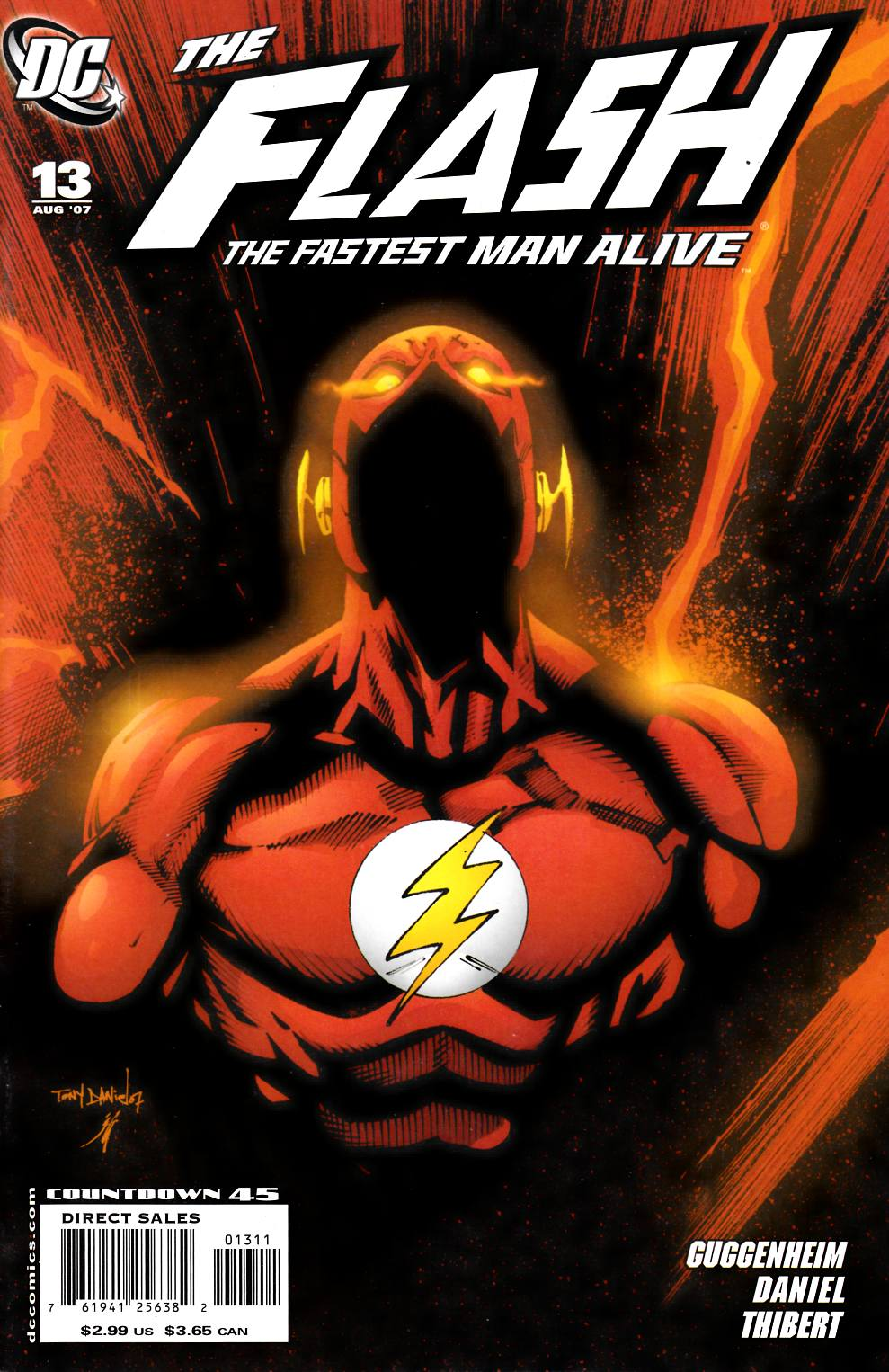 Flash the Fastest Man Alive #13 Cover A Near Mint Minus (9.2) [DC Comic]_THUMBNAIL