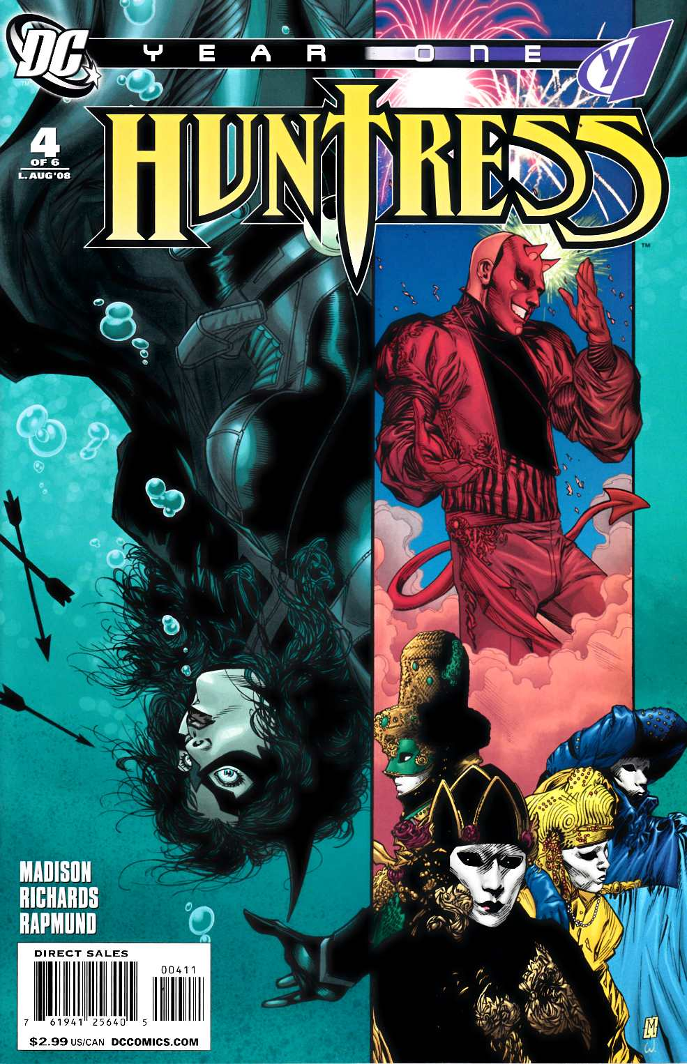 Huntress Year One #4 Near Mint (9.4) [DC Comic]_LARGE