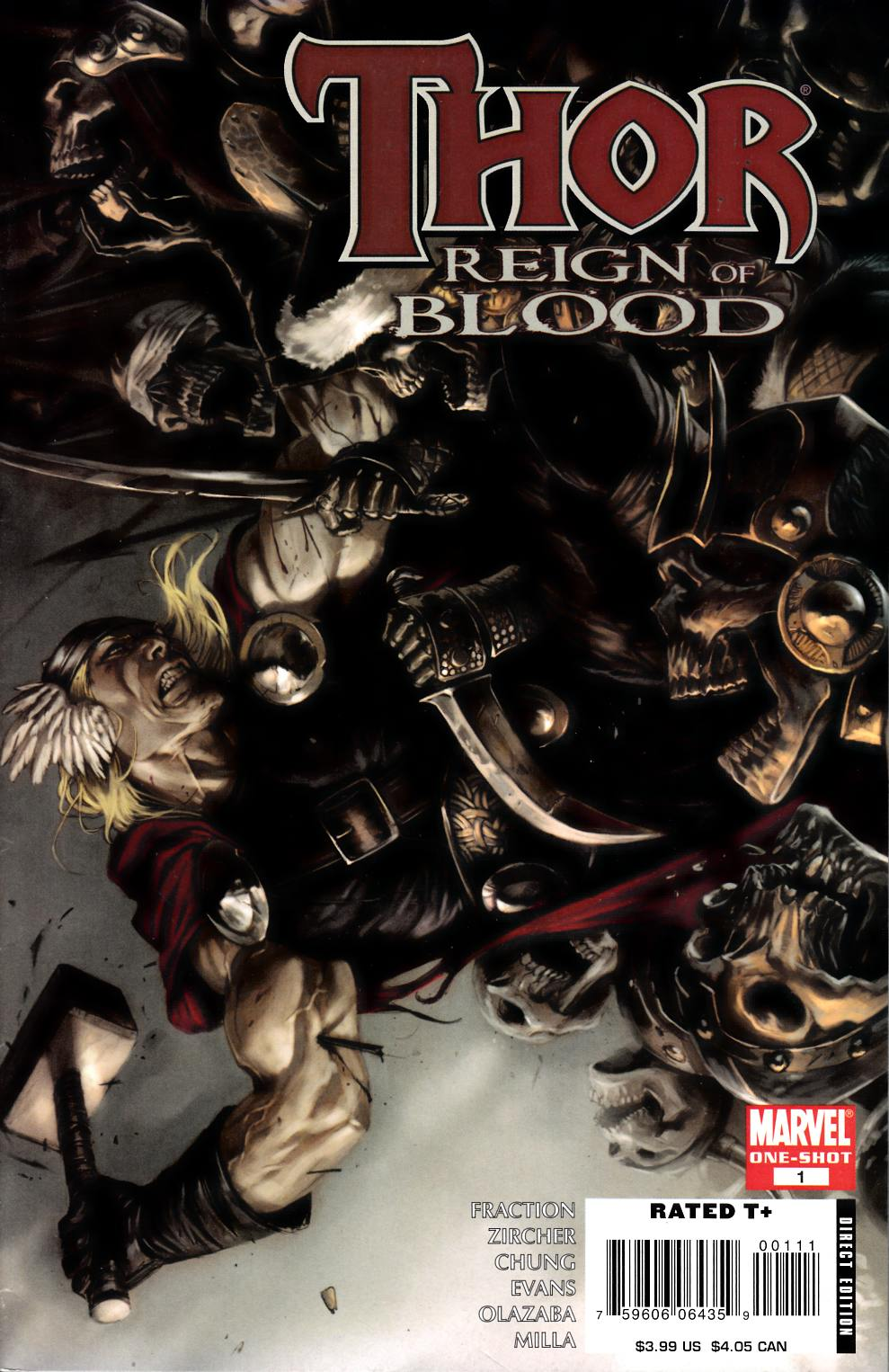 Thor Ages of Thunder Reign of Blood #1 Very Fine (8.0) [Marvel Comic] THUMBNAIL