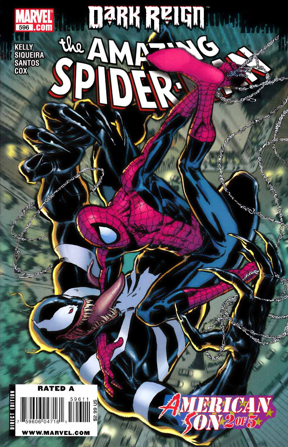 Amazing Spider-Man #596 Very Fine (8.0) [Marvel Comic]_LARGE