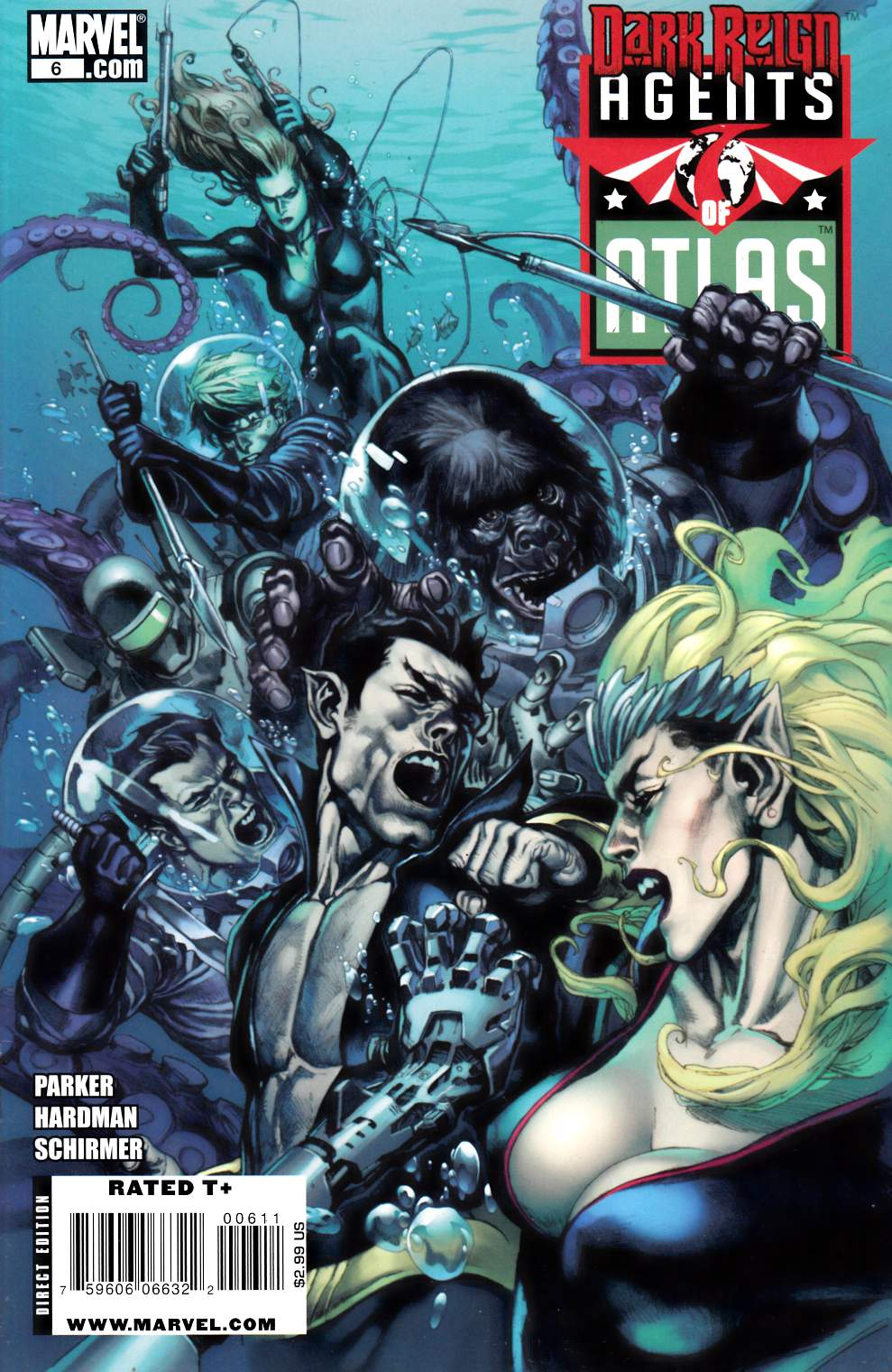 Agents of Atlas #6 Near Mint Minus (9.2) [Marvel Comic] THUMBNAIL