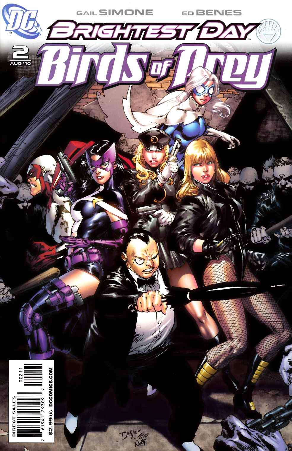 Birds Of Prey 2 Near Mint 9 4 Dc Comic Dreamlandcomics Com Online Store