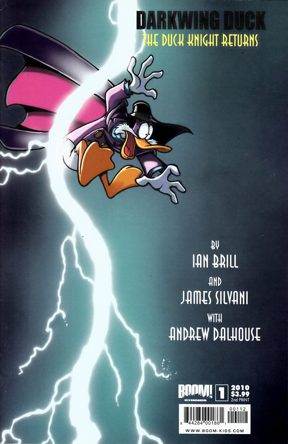 Darkwing Duck #1 Second Printing Very Fine Plus (8.5) [Boom Comic] THUMBNAIL