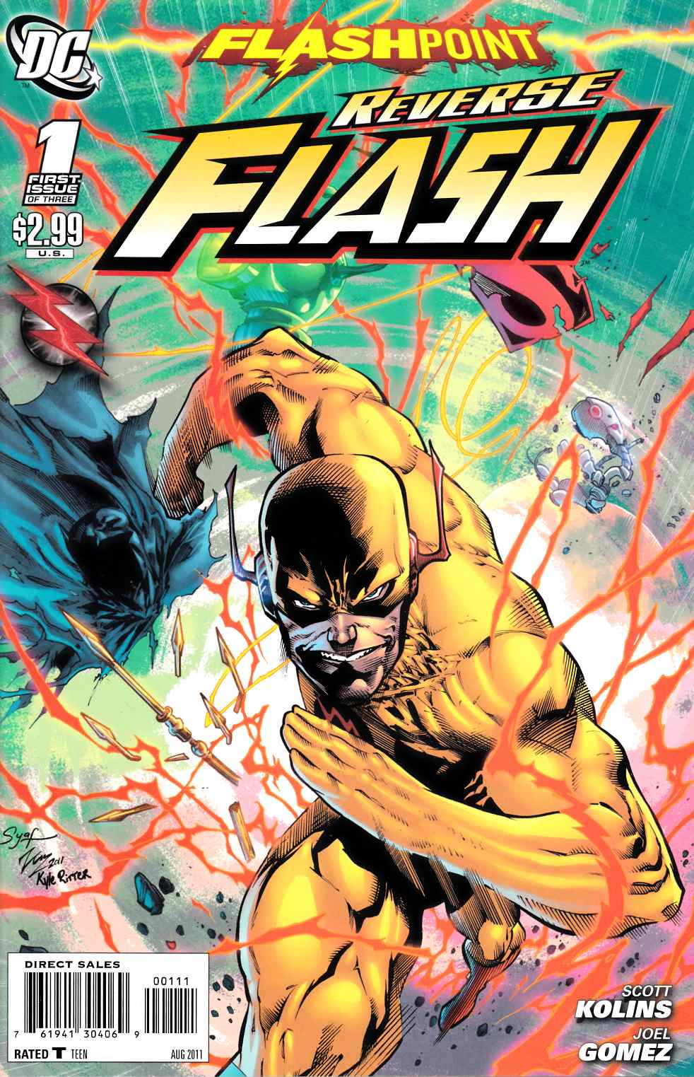 Flashpoint Reverse Flash #1 Very Fine (8.0) [DC Comic] LARGE