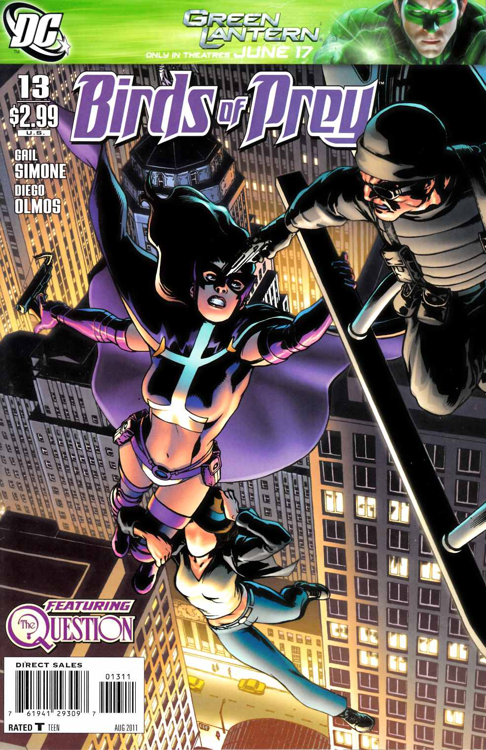 Birds of Prey #13 Near Mint (9.4) [DC Comic]