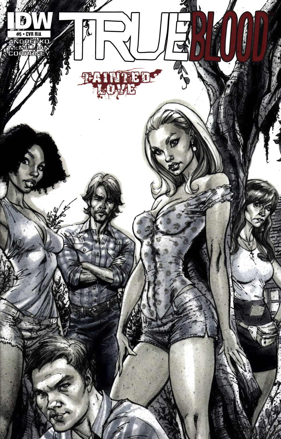 True Blood Tainted Love #5 Cover RIA Near Mint Minus (9.2) [IDW Comic] THUMBNAIL