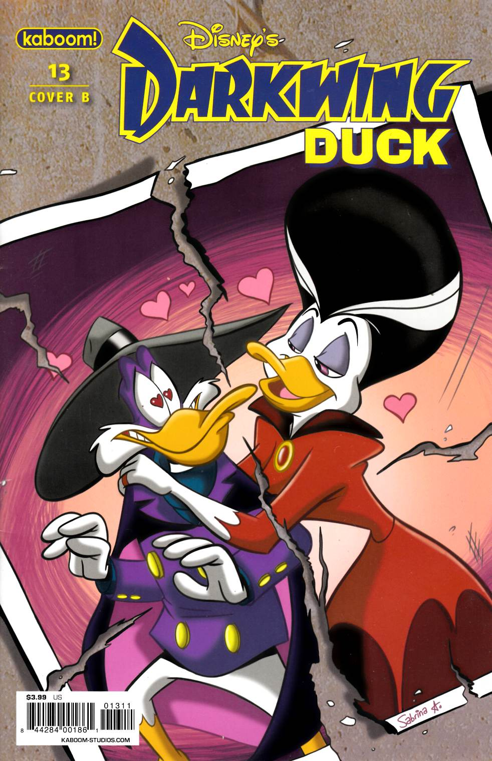 Darkwing Duck #13 Cover B Fine (6.0) [Boom Comic] THUMBNAIL
