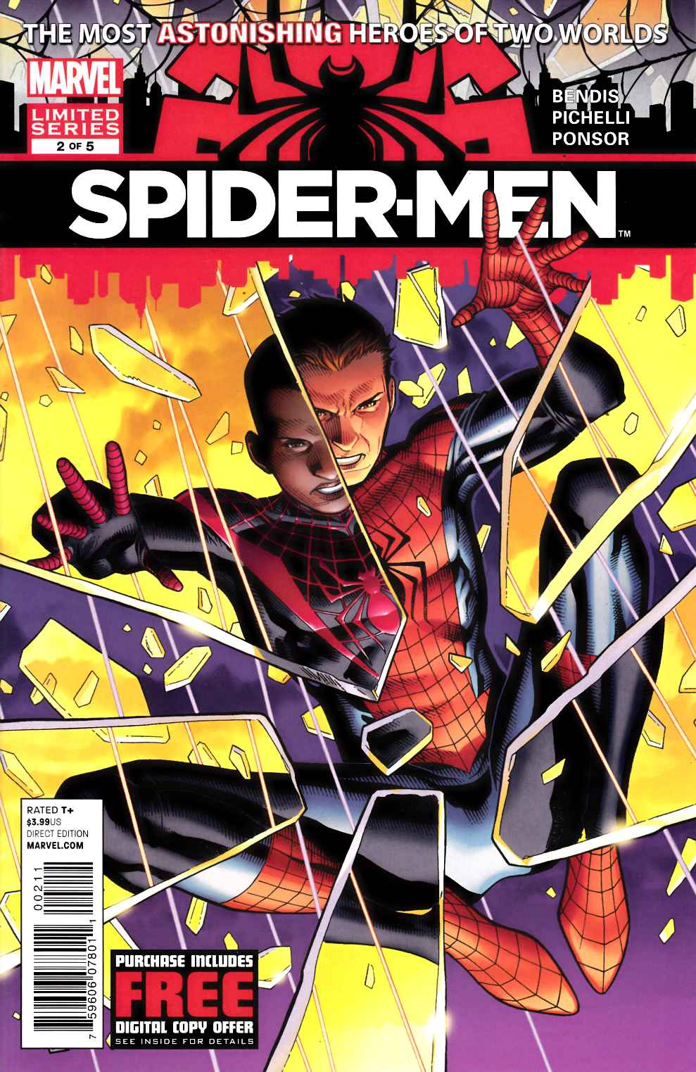 Spider-Men #2 Near Mint (9.4) [Marvel Comic] THUMBNAIL