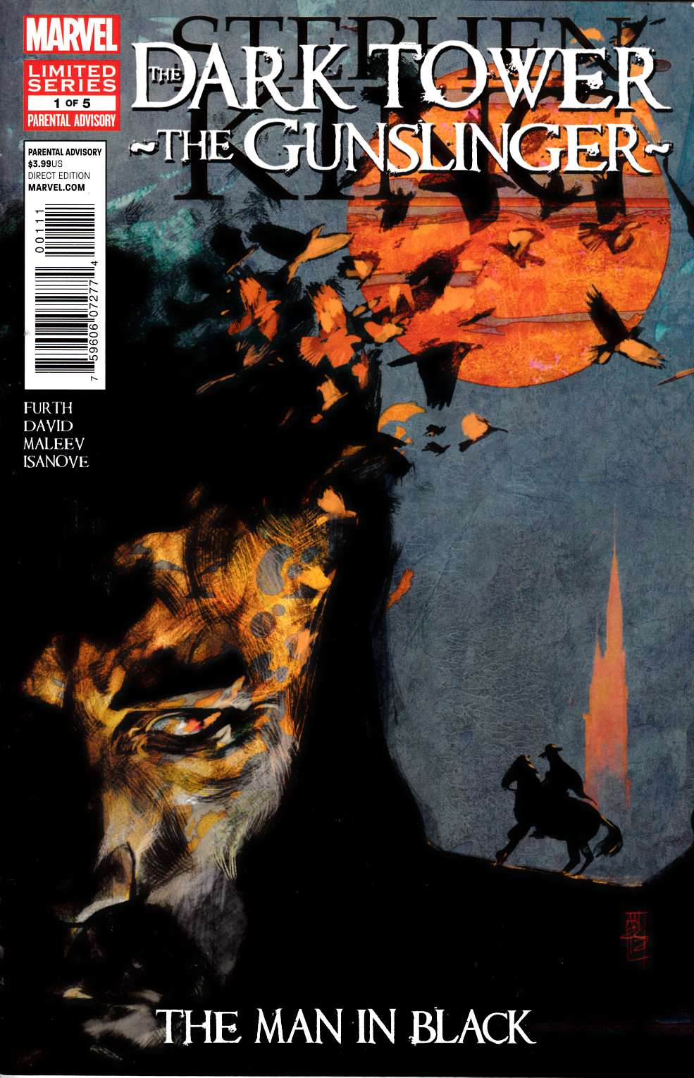 Dark Tower Gunslinger Man In Black #1 [Marvel Comic]